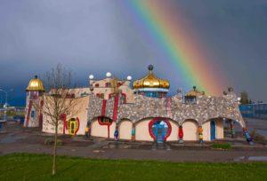 Hundertwassermarkthalle  Photo by Christof Sonderegger